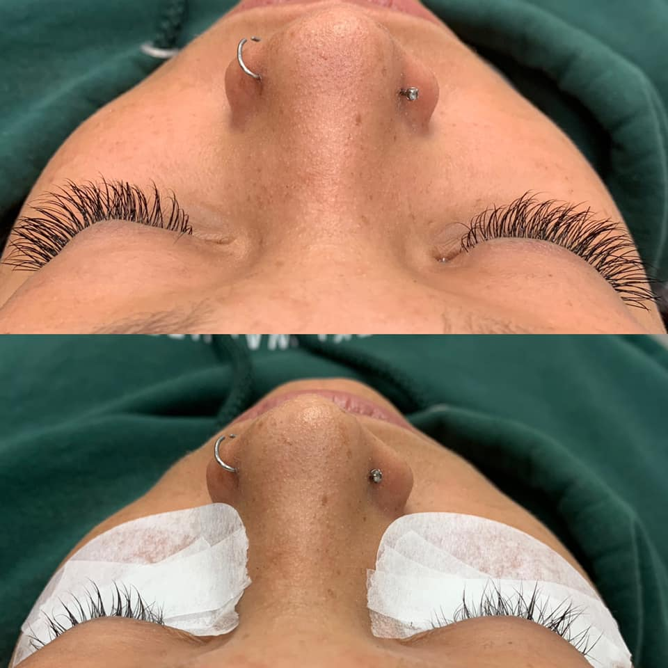 eyelashes extension