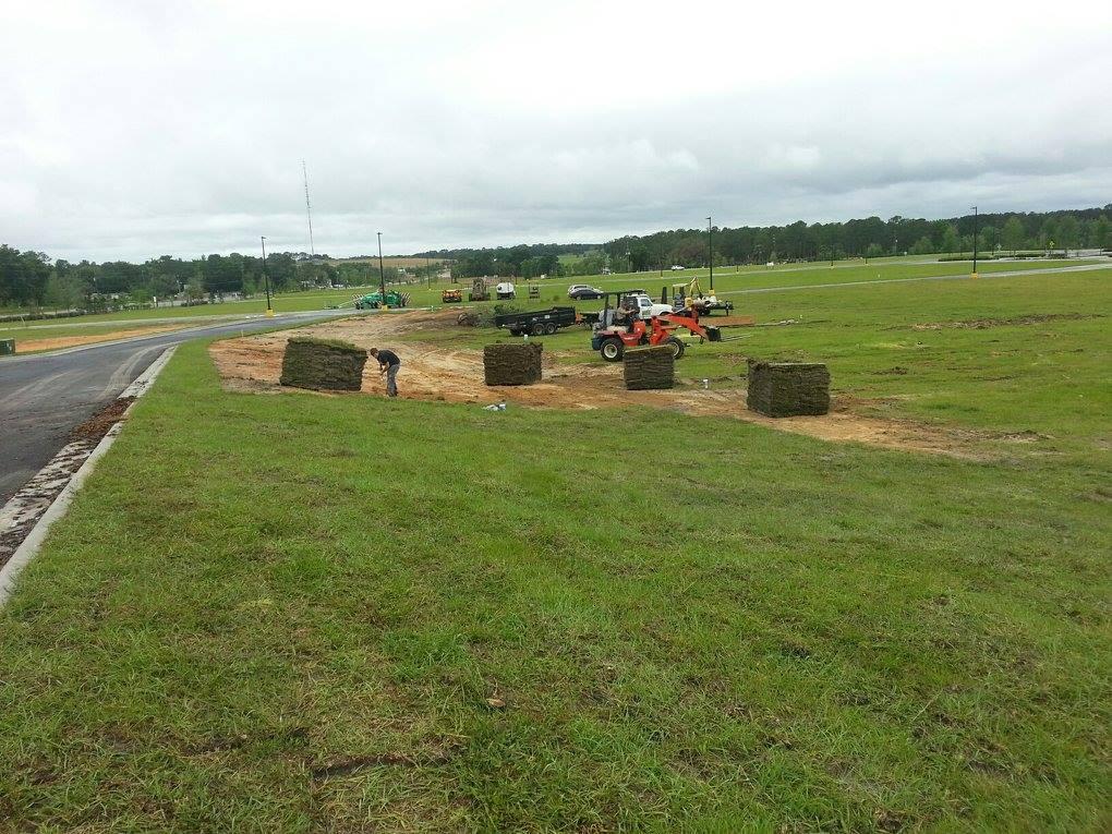 Lecanto Walmart field area installation