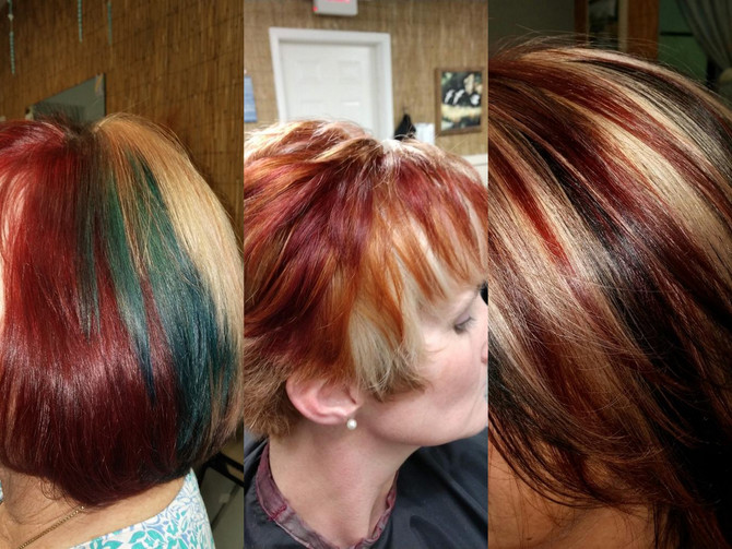 Light up your life with highlights with KIM @ Nature Coast Hair and Nails.