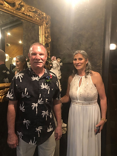 A couple got married at heilig haus