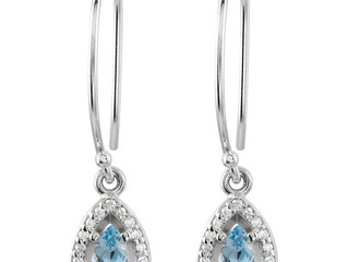 March Aquamarine Birthstone Available!