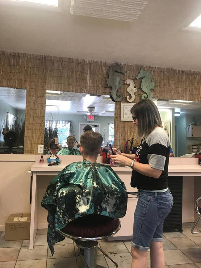 Hairstyles says everything-Gets on going kids @ NCHN  Homosassa FL