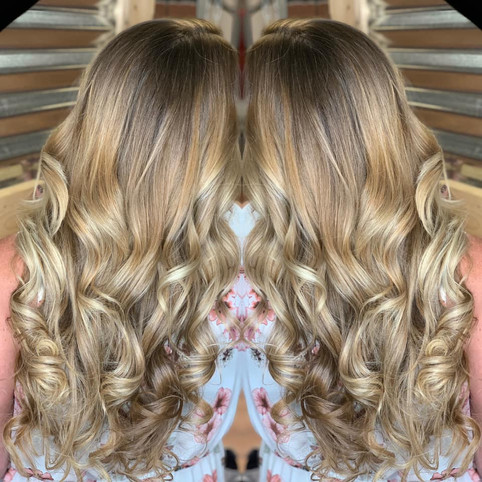 Hand painted using Sunlights Balayage an