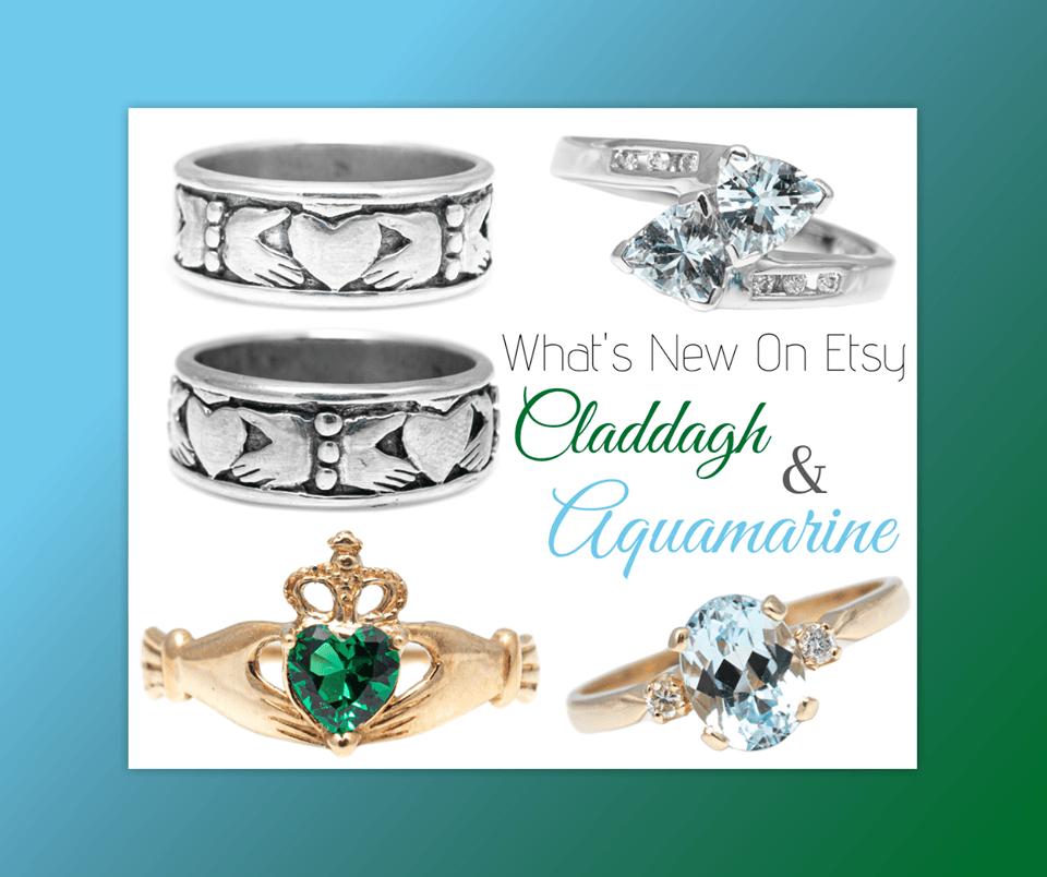 claddagh & aquamarine