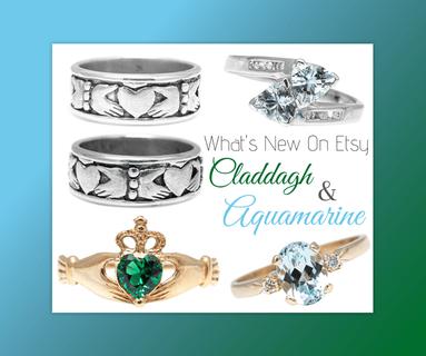 atwood jewelers claddagh and aquamarine