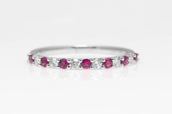 atwood jewelers ruby and diamond band
