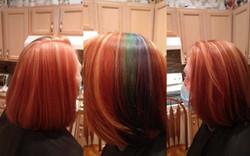 nature coast hair color service