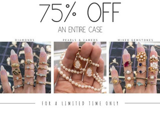 75% Off with Atwood Jewelers, Salem NH.