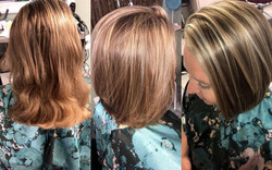 Highlights, Cut and Styling by Kristi
