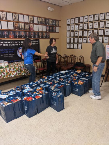 Thanksgiving Dinners to Foster Homes