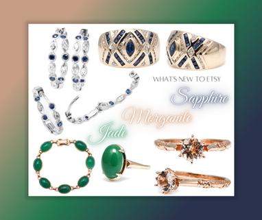 sapphire diamonds morganites and jade
