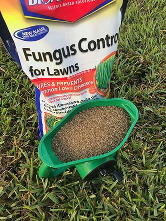Circle T Sod Farms fungus control