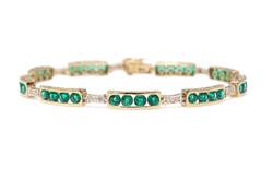atwood emerald bracelet