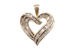 Valentine's Heart Pendant