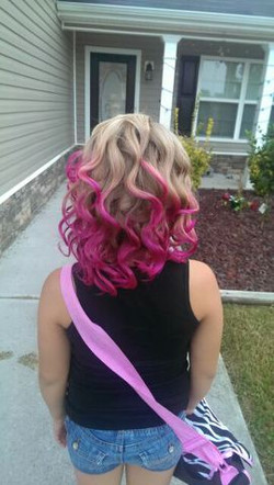 Ombre Color Style