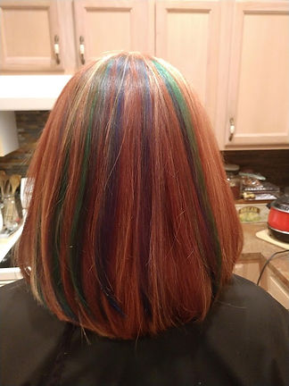 highlights and color service
