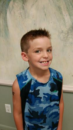 kid's hair cut