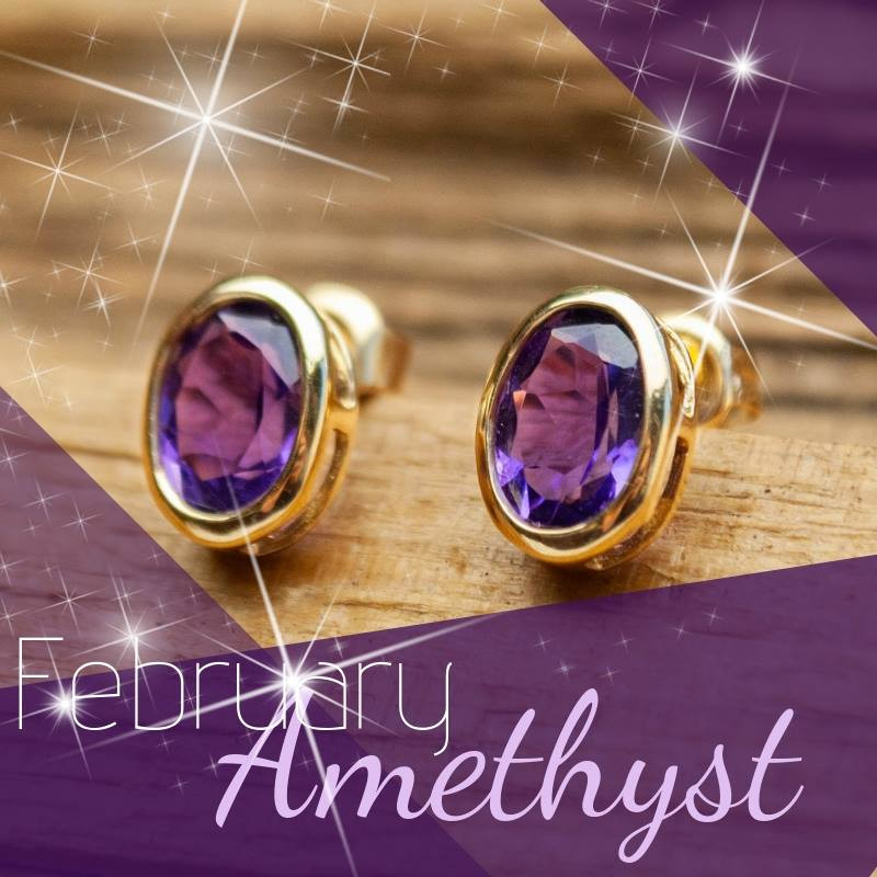 February Month Birthstone- Amethyst