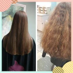 Keratin Hair Straightening