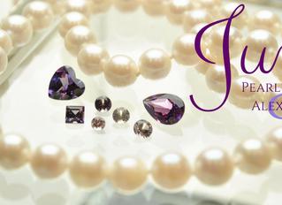 Birthday Month: June Pearl & Alexandrite