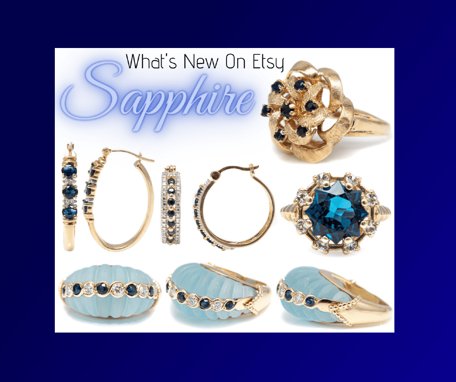 Sapphires on etsy