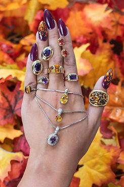 fall season estate jewelry