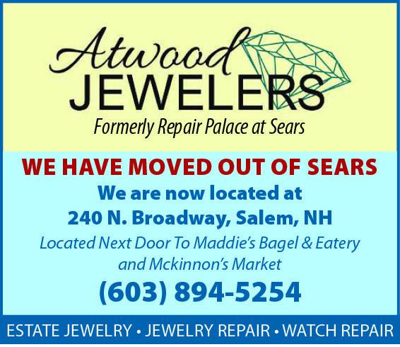 Atwood Jewelers Salem NH