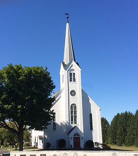 Our church on a sunny day