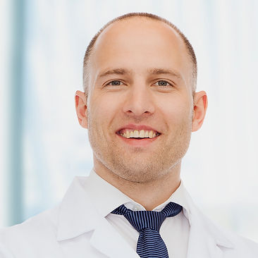 Stock Photo of Male Dentist