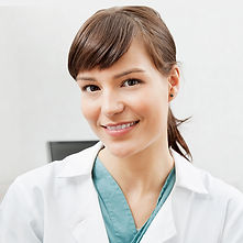 Stock Photo Female Dentist