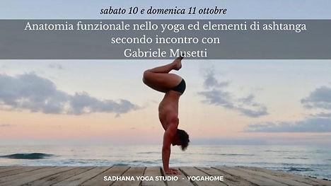 Anatomia funzionale nello yoga ed elemen