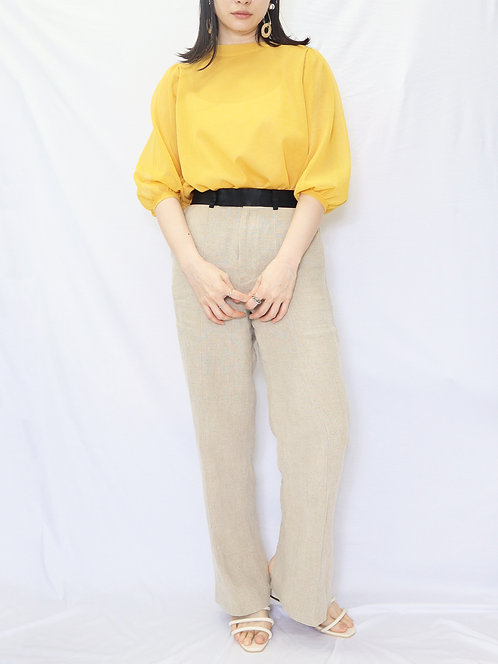 8008005 LLY                   Sleeve volme                         Knit blouse