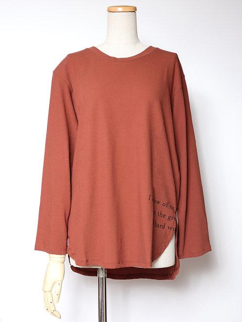 7807505サイドプリントTシャツ