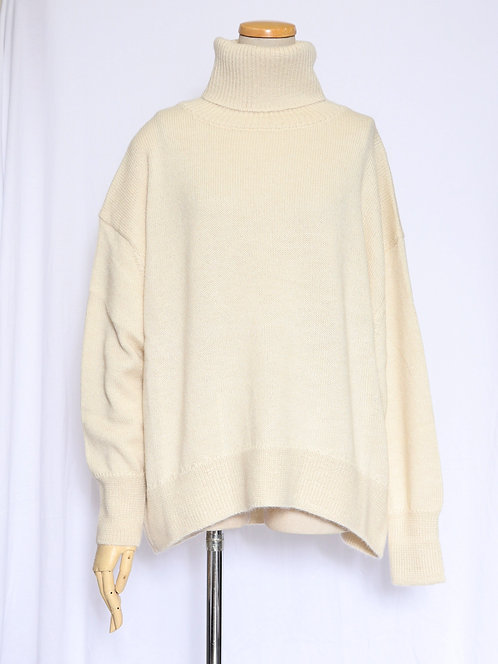 8008104  Peru    Baby Alpaca   Turtle  Neck  TOPS