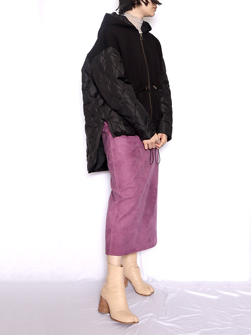 8005103 Down hoodie change fabric outer