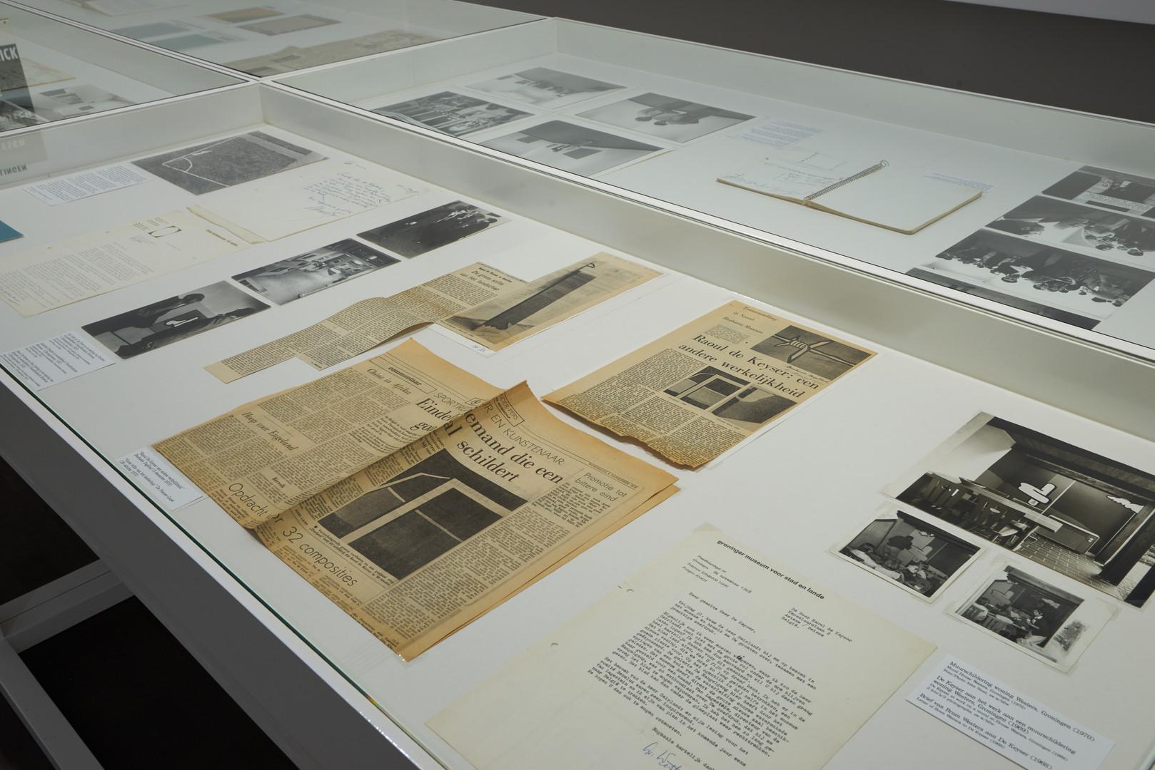 Archives Raoul De Keyser, S.M.A.K., Ghent.