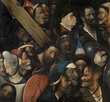 Jheronimus Bosch – De Kruisdraging (ca. 1510-1516)