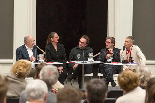MSK Gent – Lezing en gesprek: Rondom Jheronimus Bosch – Jos Koldeweij, Griet Steyaert, Johan De Smet, Maximiliaan Martens en Paul Vandenbroeck