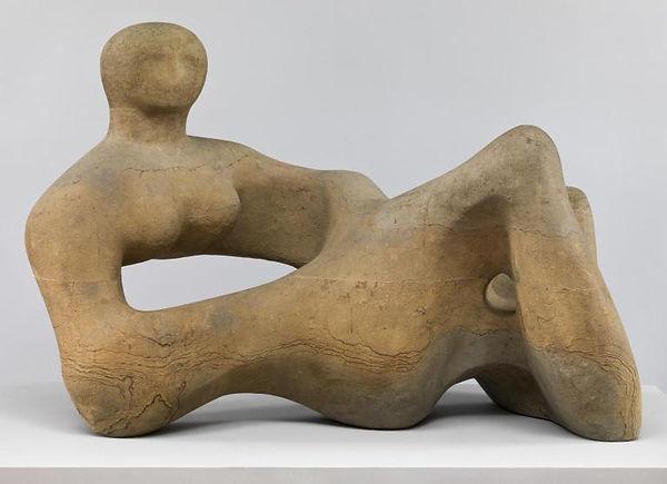 Henry Moore – Recumbent Figure, collectie Tate credit to Tate