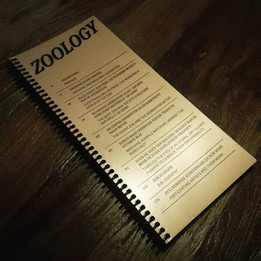 Booklet Zoology