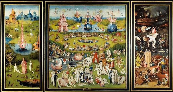 Jheronimus Bosch – Tuin der Lusten (ca.1500-1505)