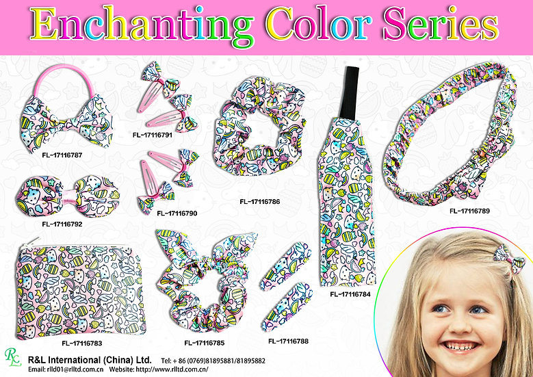 Enchanting Color Series