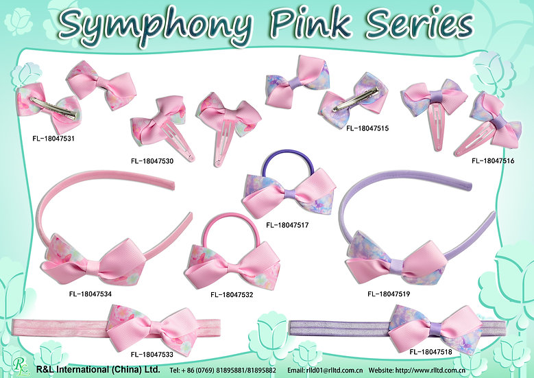 Symphony Pink Series