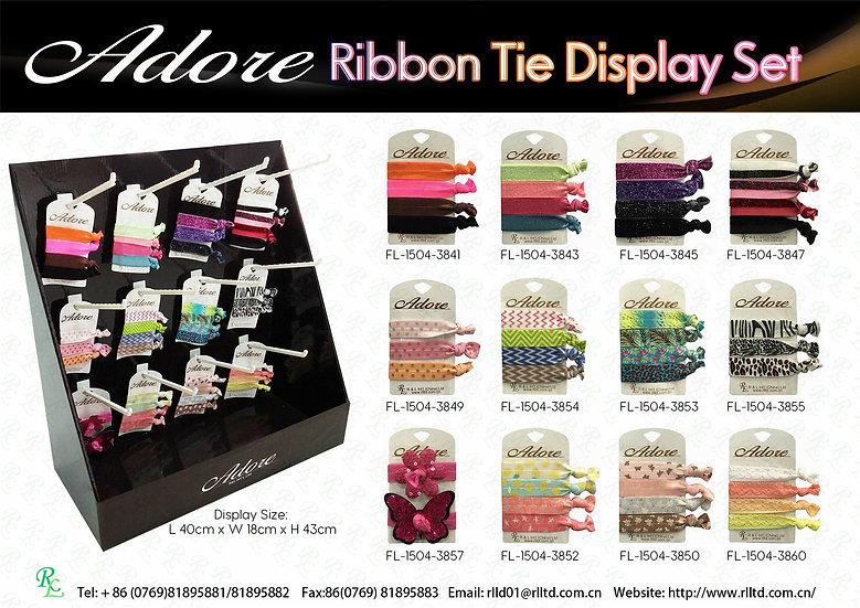 Adore Ribbon Tie Display Set