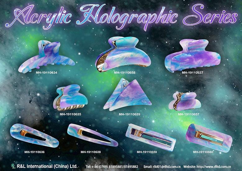 AcrylicHolographicSeries