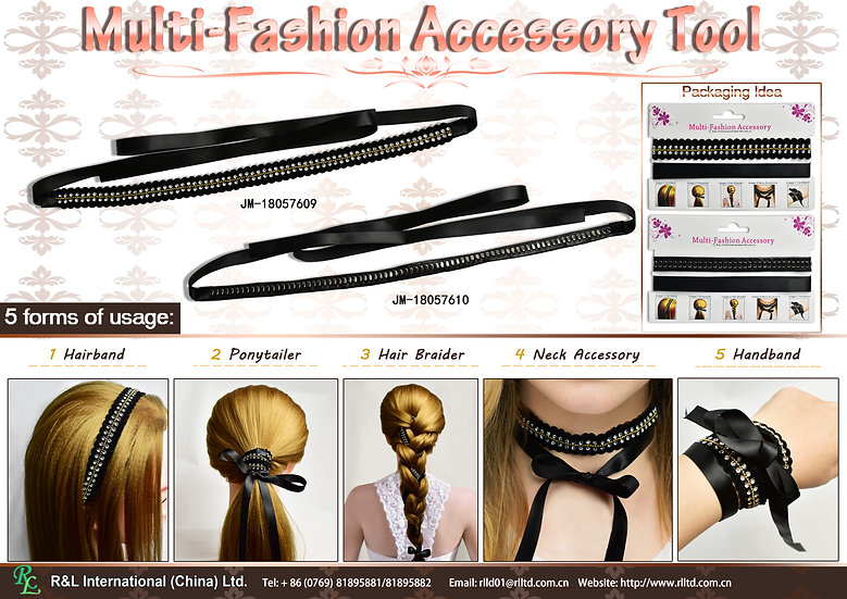 Multi-Fashion Accessory Tool