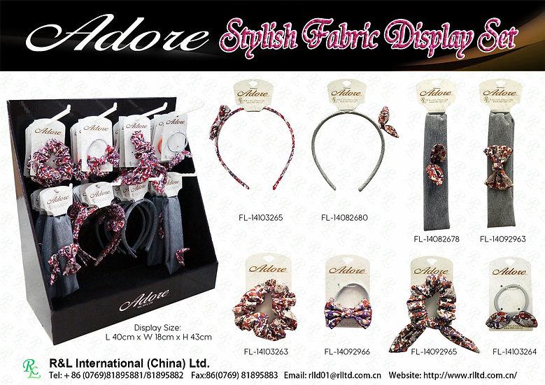 Adore Stylish Fabric Display Set