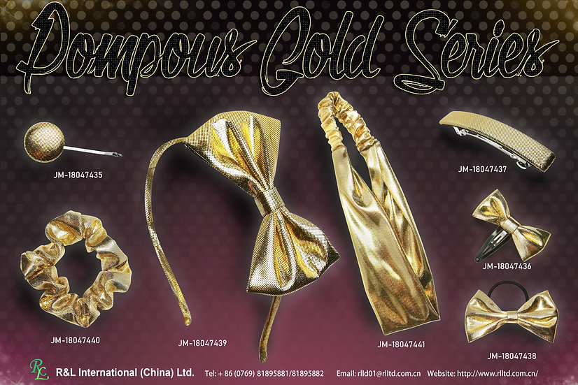 Pompous Gold Series