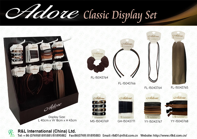 Adore Classic Display Set