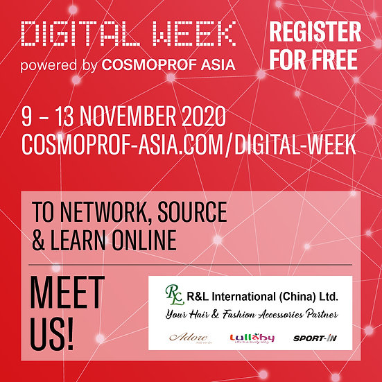 Cosmoprof Digital Week- Invitation from R&L